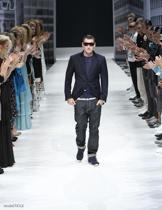 Berlin avant garde fashion designer Michael Michalsky