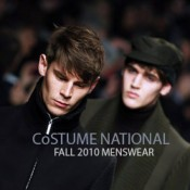 CoSTUME NATIONAL, Fall 2010 Collection at Milan Moda Uomo