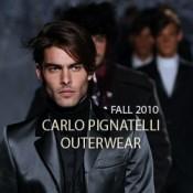 Carlo Pignatelli Outside, Fall 2010 Collection at Milan Moda Uomo